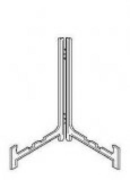Standaard  modern hoogte 8 t/m 25 cm