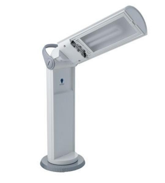 Daylight draagbare lamp Twist wit/grijs