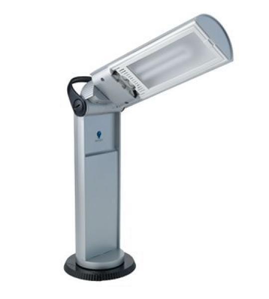 Daylight Draagbare lamp Twist zilver/zwart