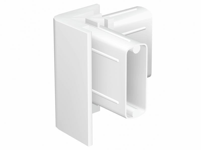 2 hoekverbinders click rail wit