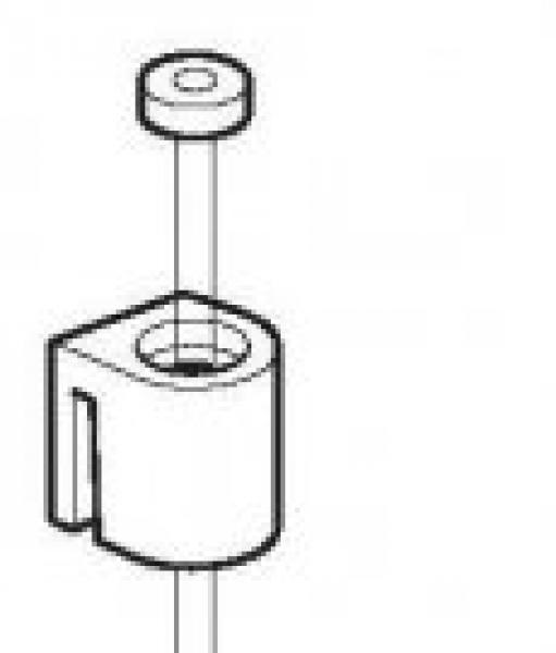 Perlondraden  voor glijder 150 of 200 cm