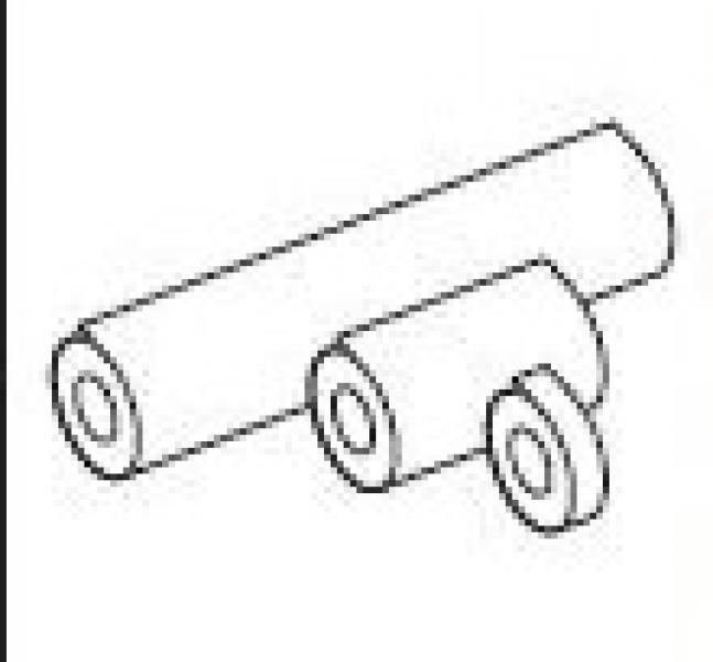 Zuurvrij dubbelzijdig plakband 9 mm T/m 1040 mm