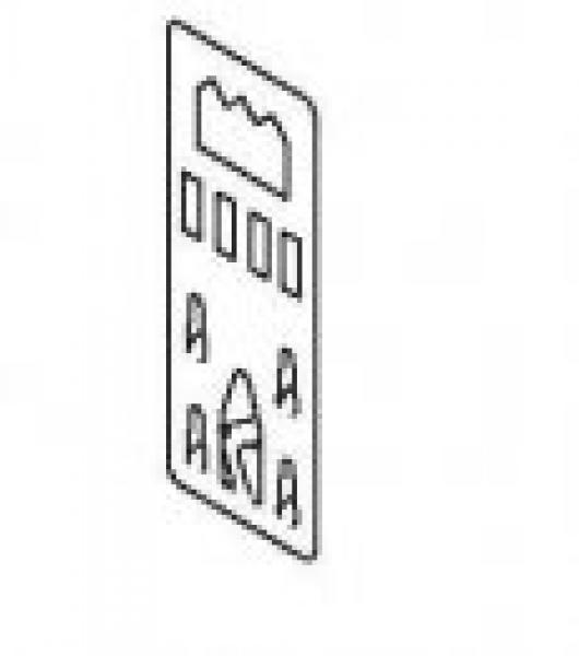 Foam-board hanger
