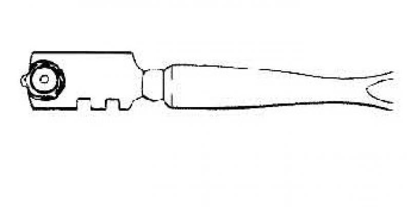 Glassnijder Silberschnitt, type 400