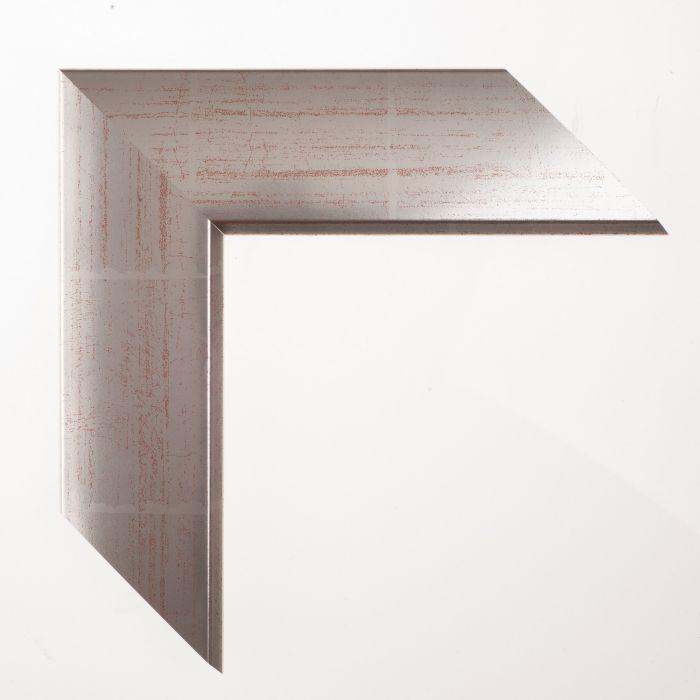 Houten lijst -  - ARGENTO - Zilver breed 57 mm