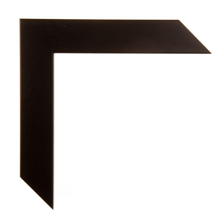 Houten lijst -  CONFETTI II - Black Cube  zwart