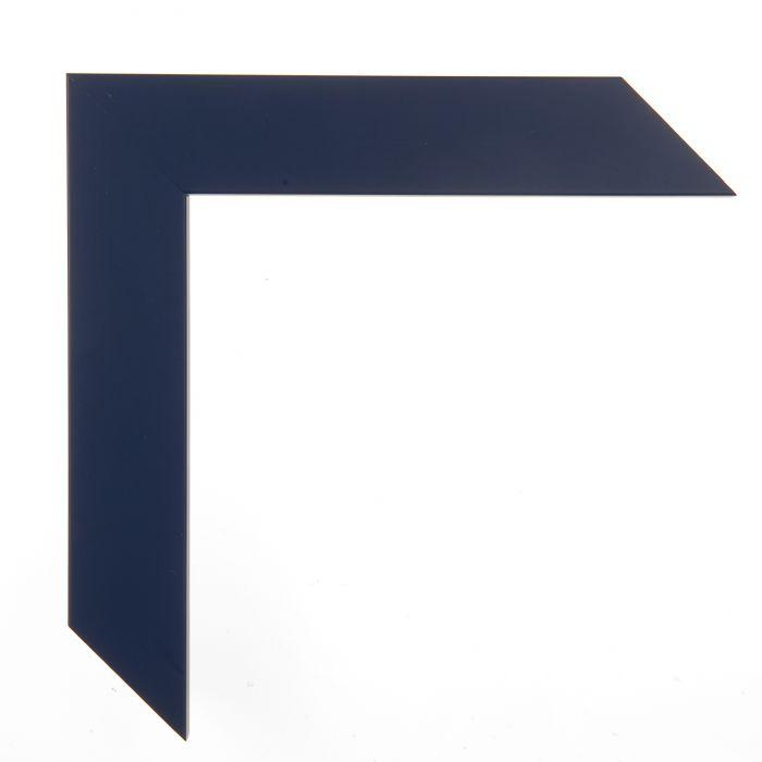 Houten lijst - CONFETTI II - Blue Cube blauw 150640