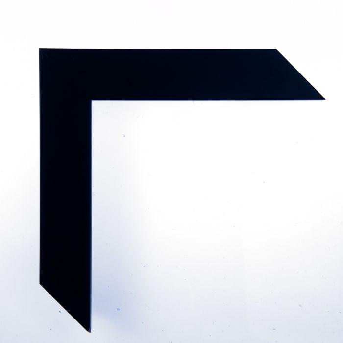 Houten lijst -  CONFETTI II - Dark Blue Cube donker blauw