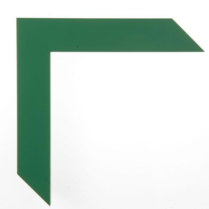 Houten lijst - - CONFETTI II - Green Cube