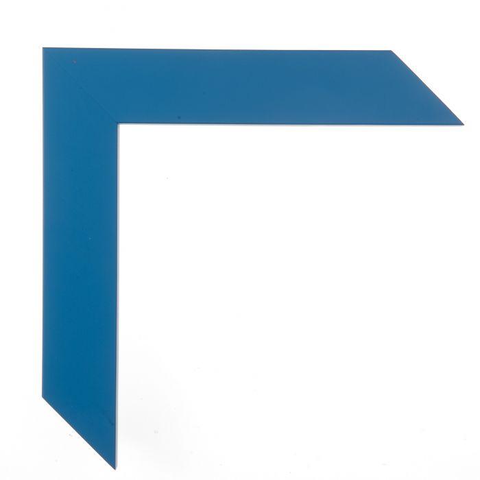 Houten lijst -  CONFETTI II - Light Blue Cube blauw 150636
