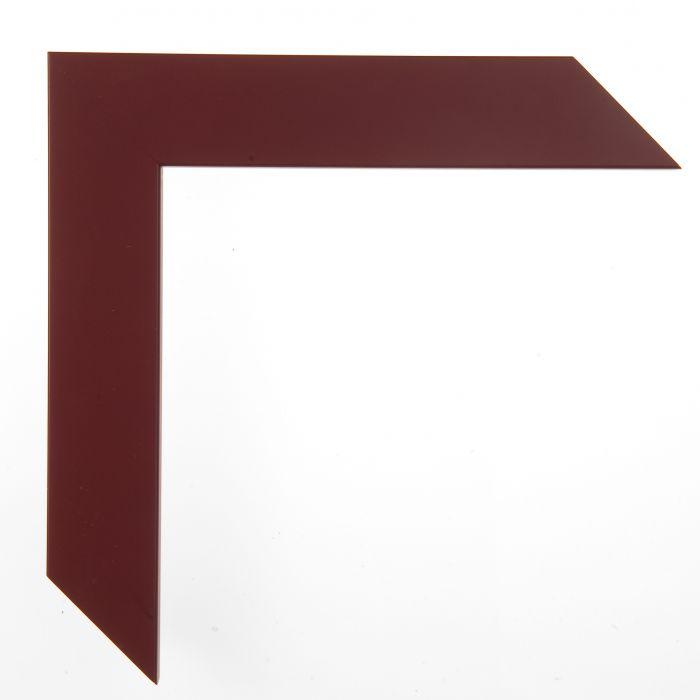Houten lijst - CONFETTI II - Maroon Cube bordeaux rood