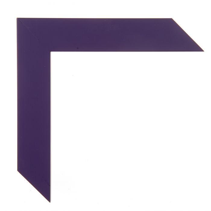 Houten lijst -  CONFETTI II - Purple Cube paars 150639