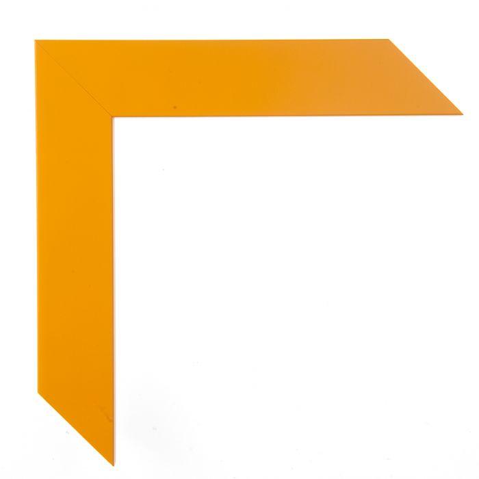 Houten lijst - CONFETTI II - Yellow Cube  geel 150632