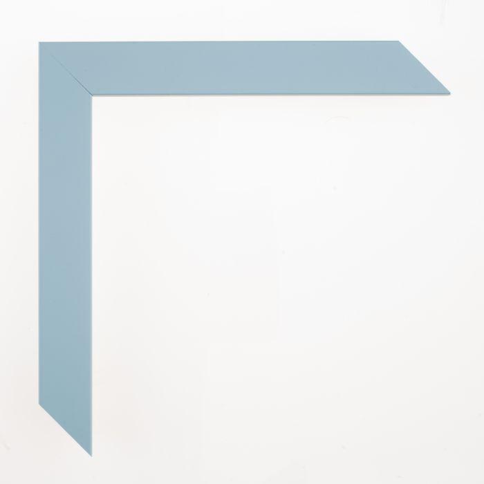Houten lijst - - CONFETTI III - Baby Blue Cube breed 23 mm