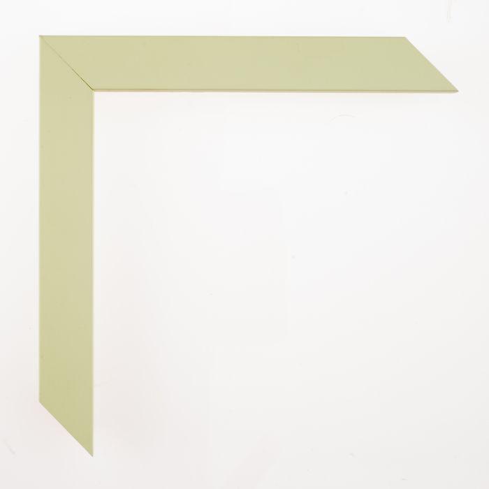 Houten lijst - - CONFETTI III - Baby Green Cube breed 23 mm