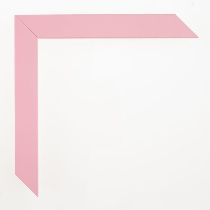 Houten lijst - - CONFETTI III - Baby Pink Cube breed 23 mm