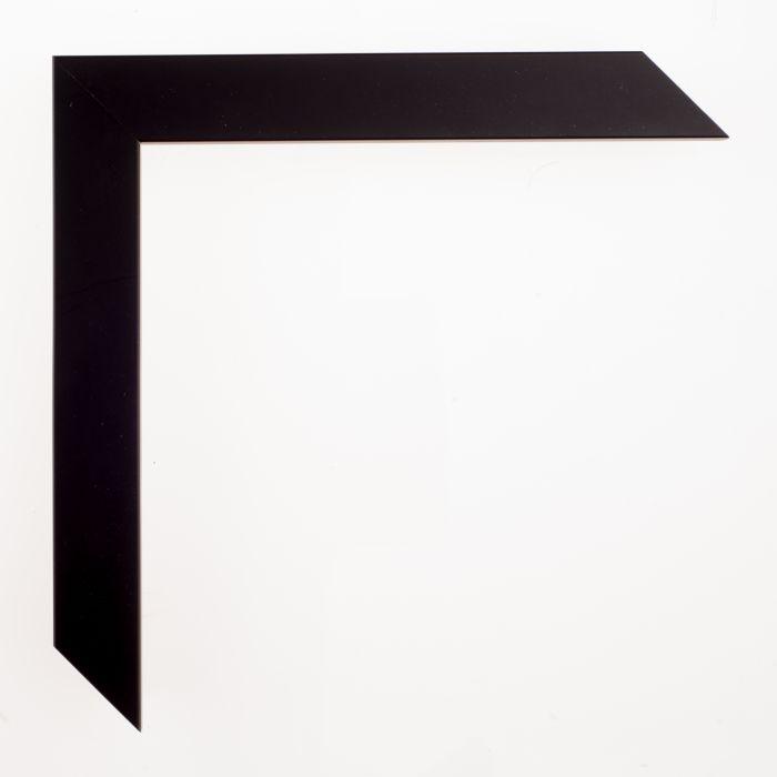 Houten lijst -CONFETTI III - Black Cube breed 23 mm