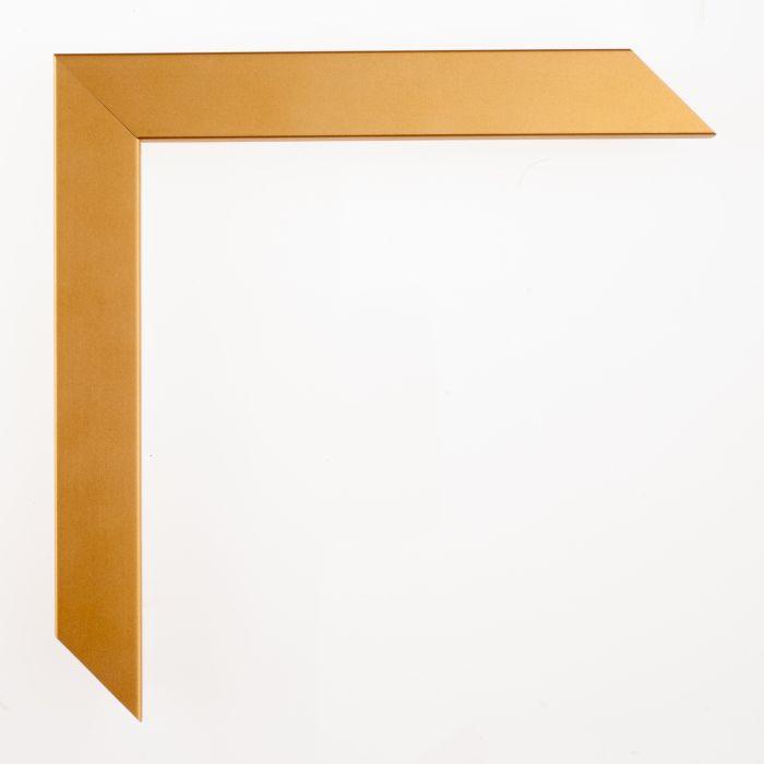 Houten lijst - - CONFETTI III - Metallic Gold Cube breed 23 mm