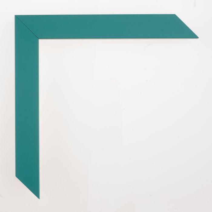 Houten lijst - CONFETTI III - Teal Cube breed 23 mm
