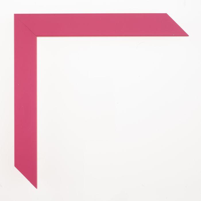 Houten lijst -  CONFETTI III - Tween Pink Cube breed 23 mm
