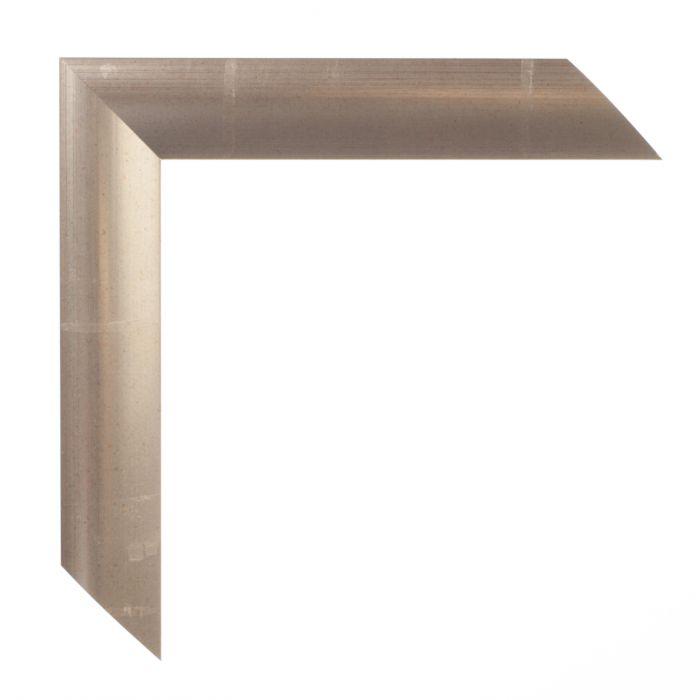 Houten lijst -ESSENTIAL I - Warm zilver