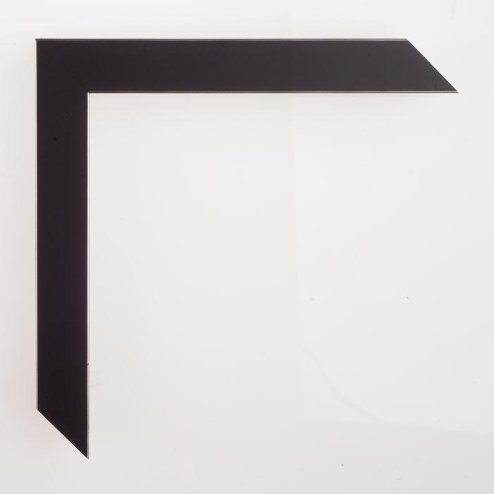 Houten lijst -- GRAMERCY II - Black zwart 22 mm