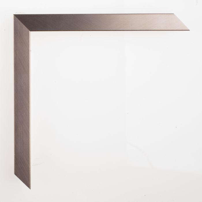 Houten lijst - - GRAMERCY II - Brushed silver-  zilver 150791