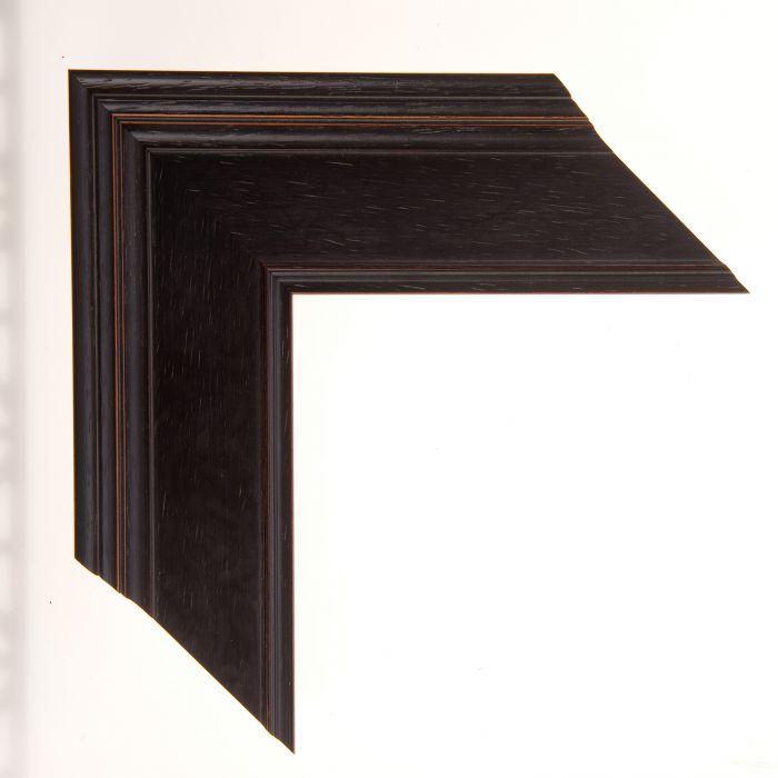 Houten lijst -  MARAIS II - French Ebony 68 mm