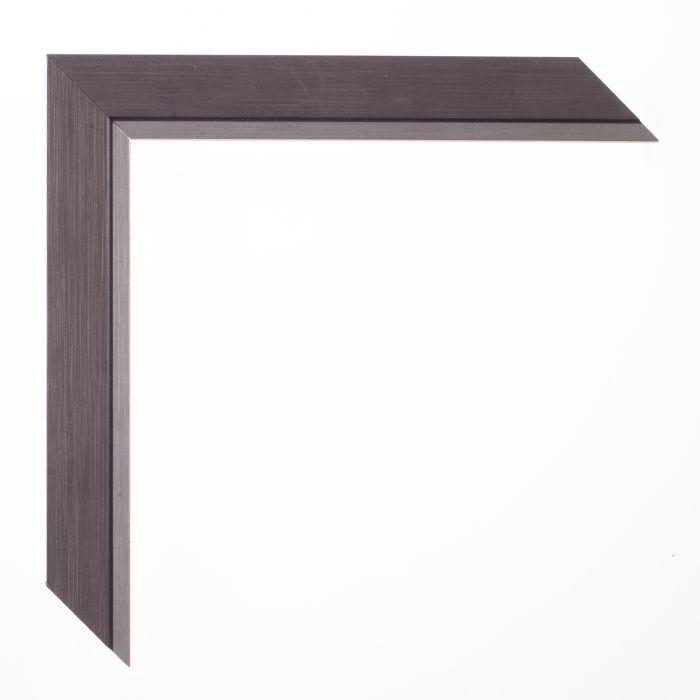 houten lijst - PETITE - Two-tone silver 24 mm