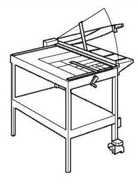 Karton snijmachine