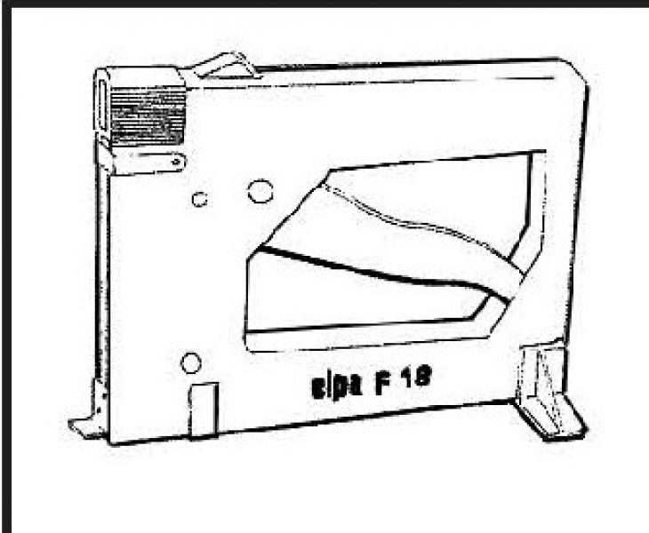 Penmachine Merk Maestri, type Elpa F18.