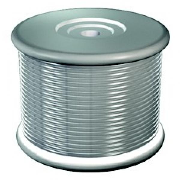Perlon 2 mm spoel 100 m transparant