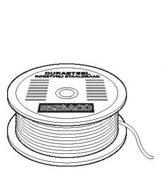 Staaldraad Durasteel 0.5mm T/M 1.5 mm