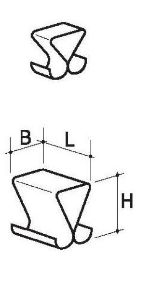 Wisselklemmen (glas)