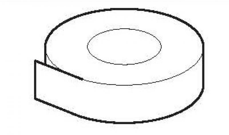 Zuurvrij afdichtplakband 30 mm breed