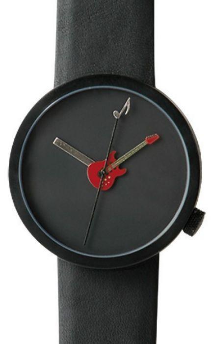 Akteo Horloge Gitaar Rood 42