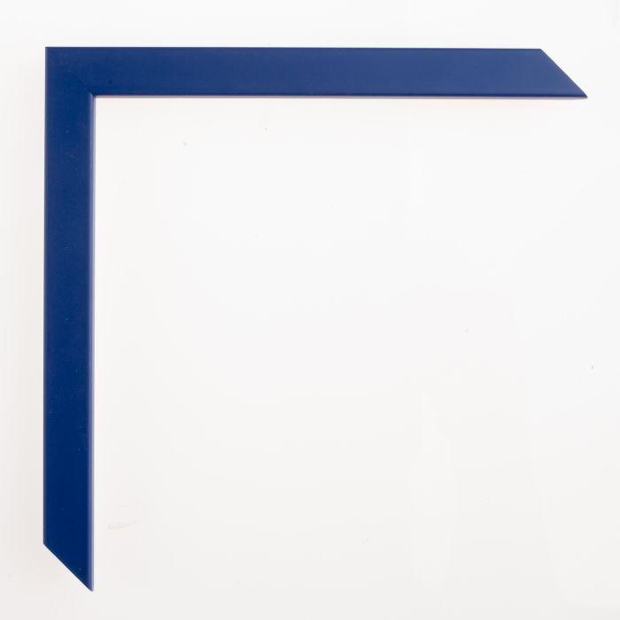 Houten lijst - - CONFETTI XS - Blue Small Cube blauw 15 mm