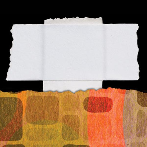 Lineco linnen plakband wit