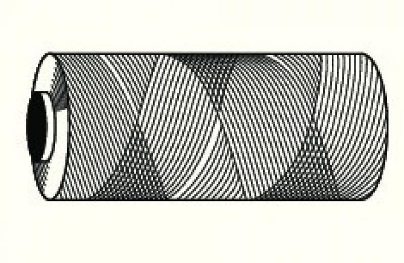 nylonkoord rekvrij 1,5mm dik  100 meter