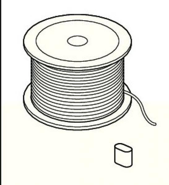 Perlondraad op rol 2 mm -100 meter