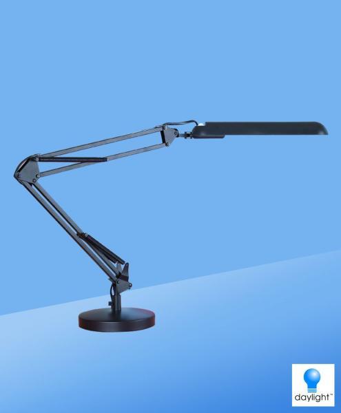 Daylight PL Bureaulamp zwart