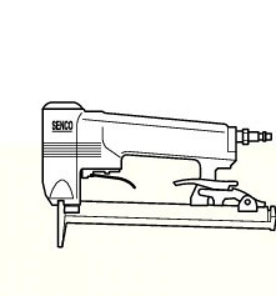 Pneumatische nietapparaten Senco, Model SFT10XP.