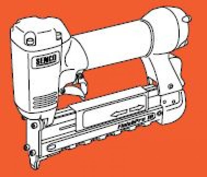 Pneumatische pinmachine