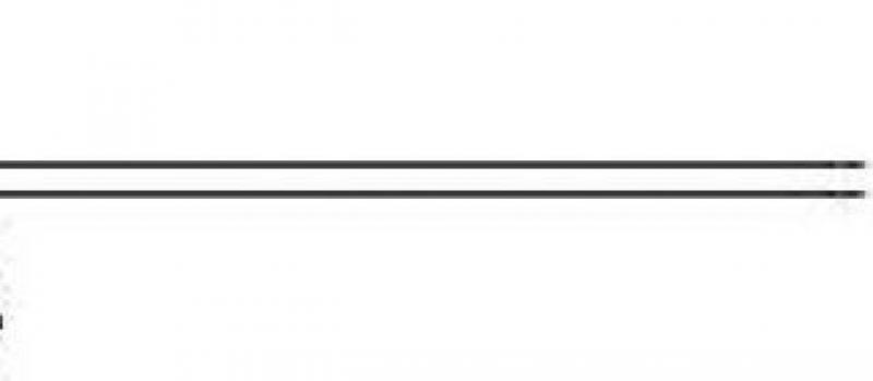 Schilderijdraad staal  per meter