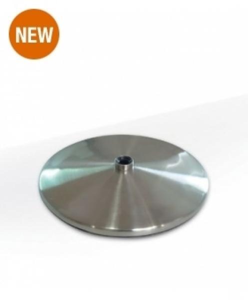 Daylight Slimline tafelvoet geborsteld chrome