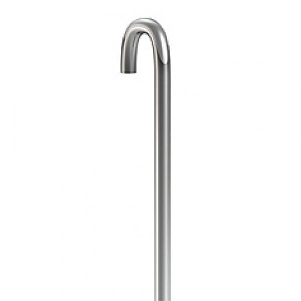 ophangstang 3mm staal u-top 300 cm