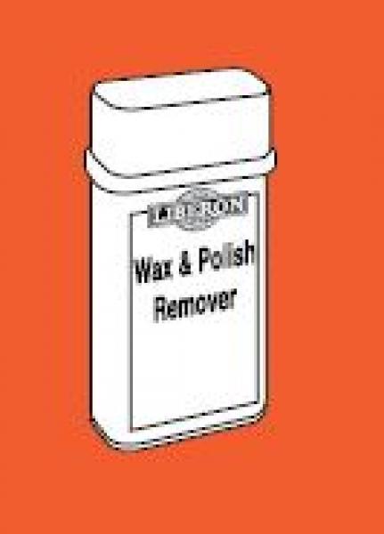 Wax and polish remover