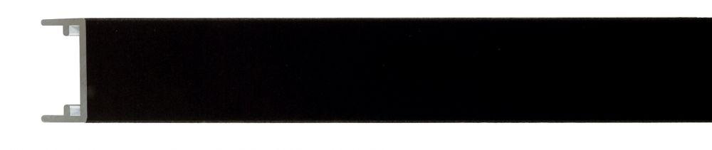Aluminium lijst - NIELSEN - Profiel 223 - Mat zwart 223-021( inleg voor profiel 222 en 224)