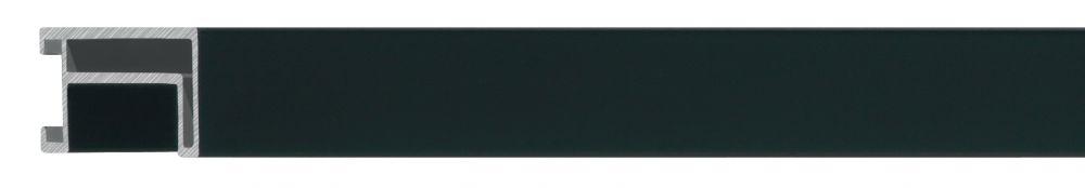 Aluminium lijst - NIELSEN - Profiel 224 - Mat zwart 224-021