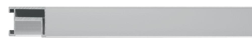 Aluminium lijst - NIELSEN - Profiel 224 - Zilver 224-003